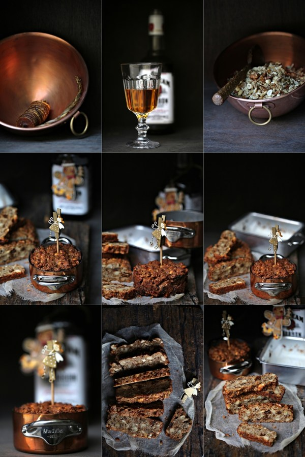 Wholewheat Bourbon Garam Masala Christmas Cake