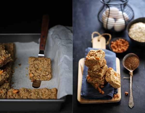 Wholewheat & Oat Butterscotch Blondies