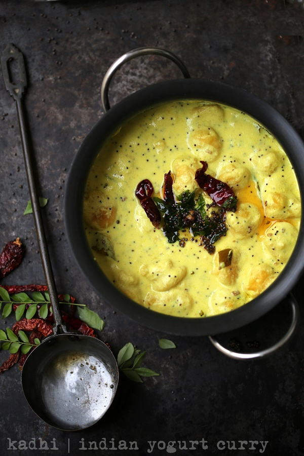 Kadhi  indian yogurt curry