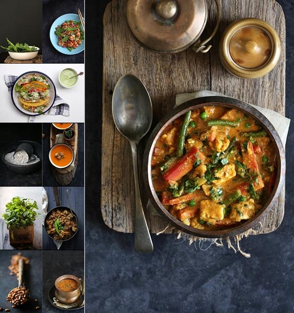 Saffola recipes collage