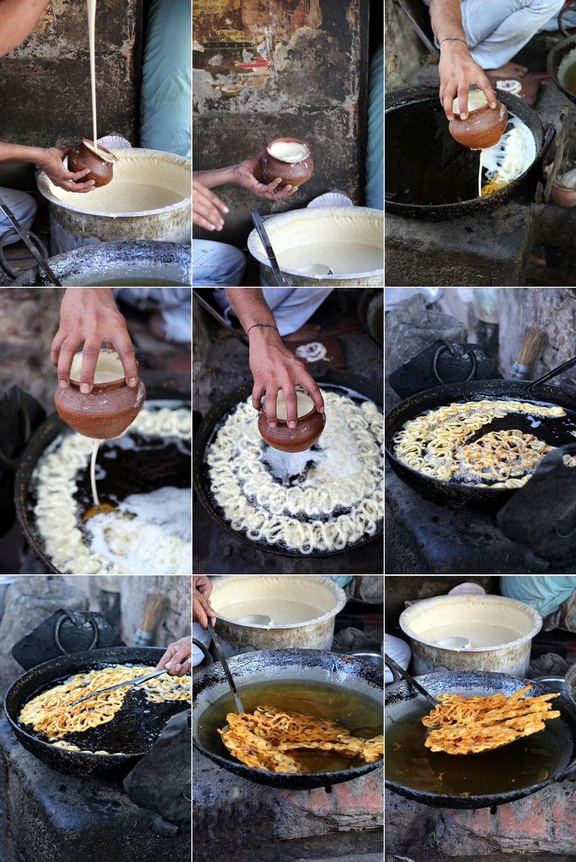 Jalebis being made, Banaras 2016