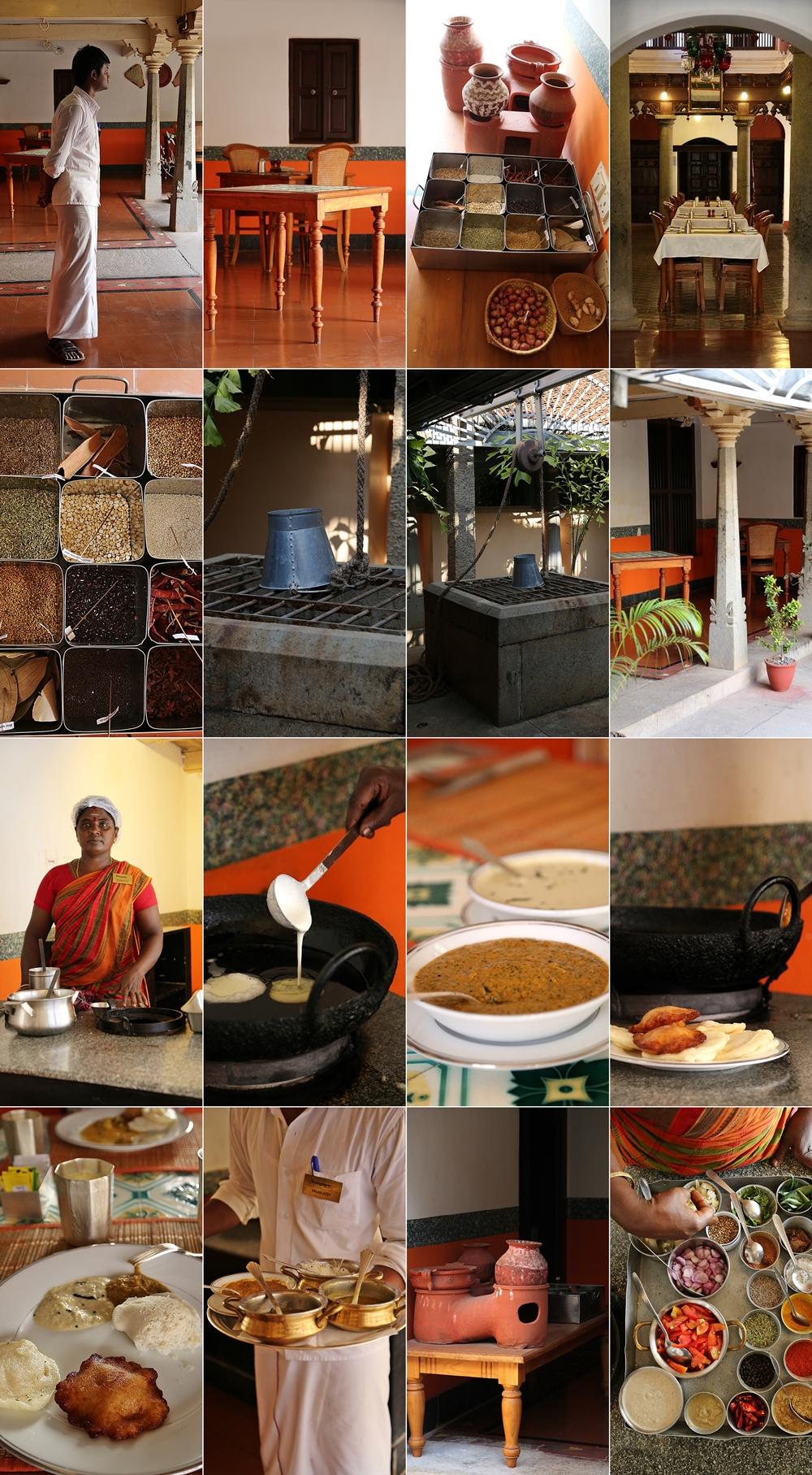 Chettinadu cuisine ,Chidambaram Vilas, Karaikudi, Chettinad, South India