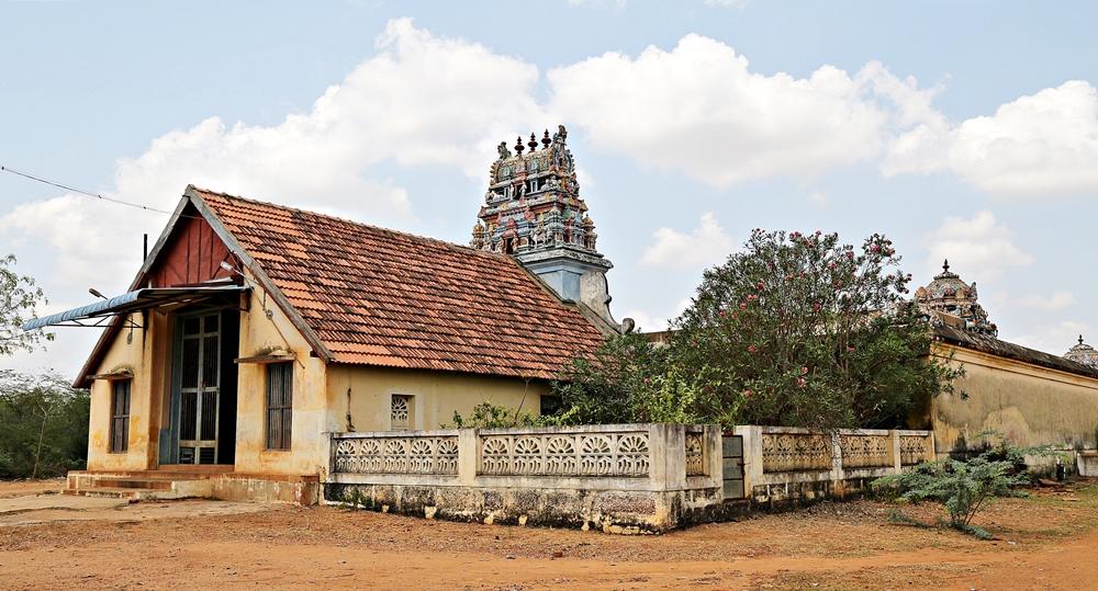 Temples, Karaikudi, Chettinad, South India