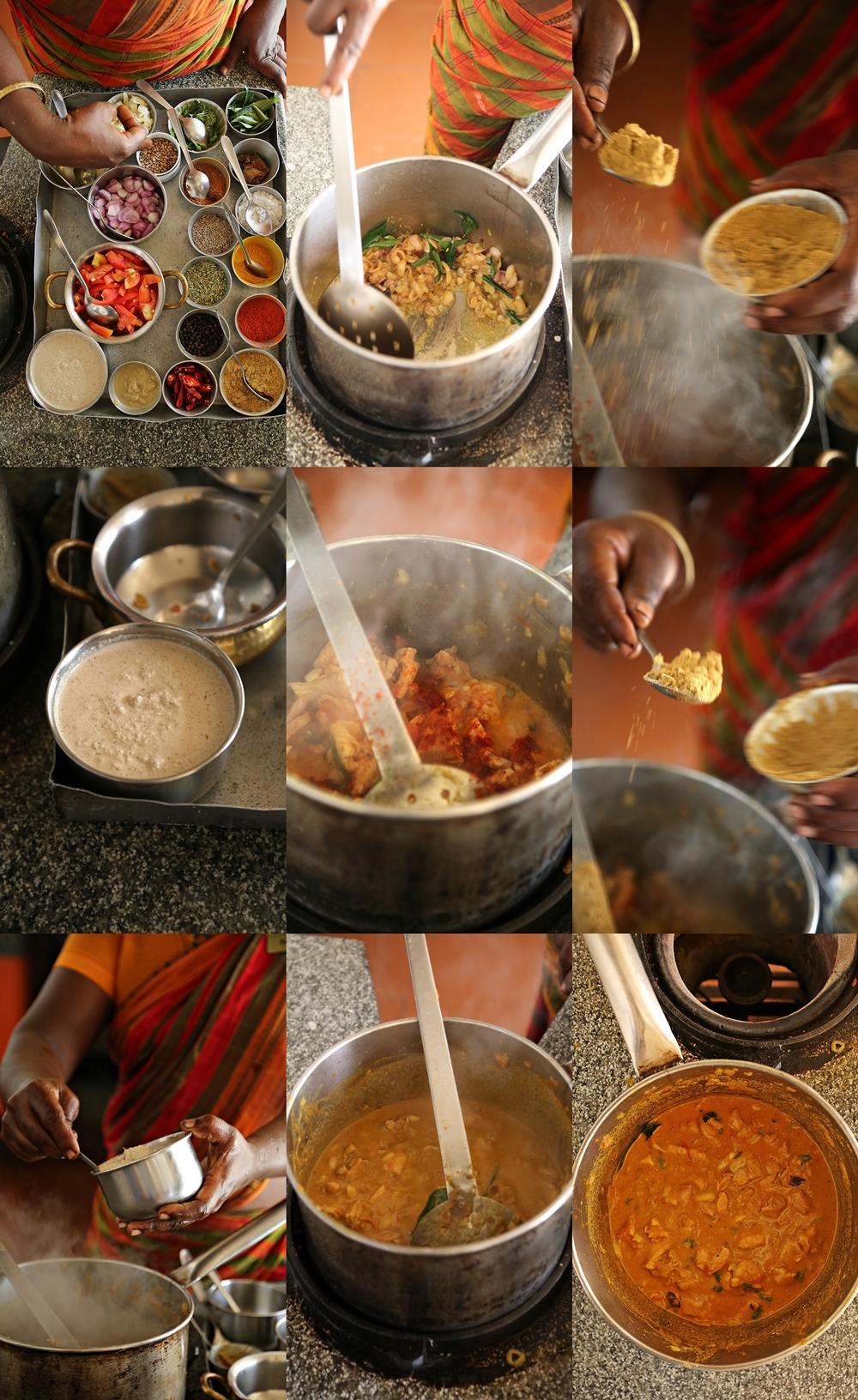 Chettinad Chicken Curry, Masterclass @ Chidambara Vilas, Karaikudi