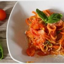 ricetta spaghetti di verdure