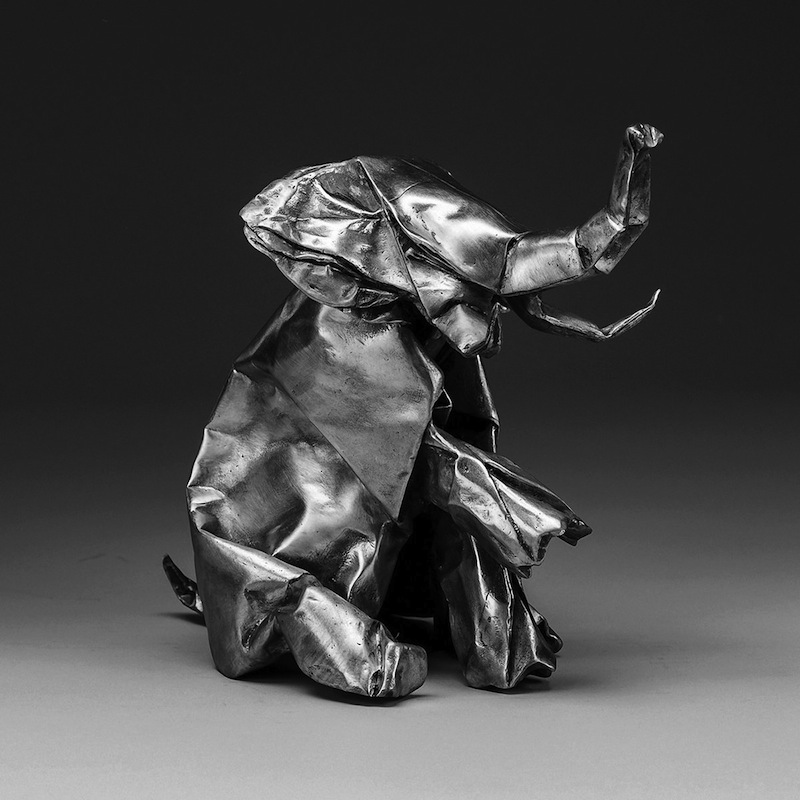 jlin black origami