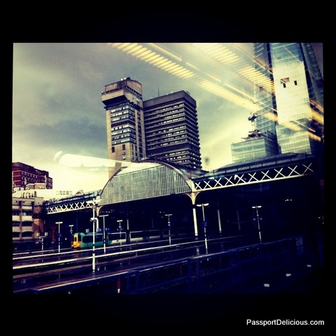 Approaching London Bridge Station
