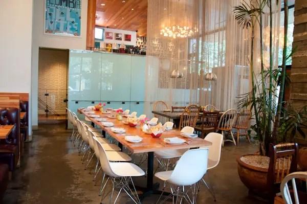La Condesa Austin Private Room