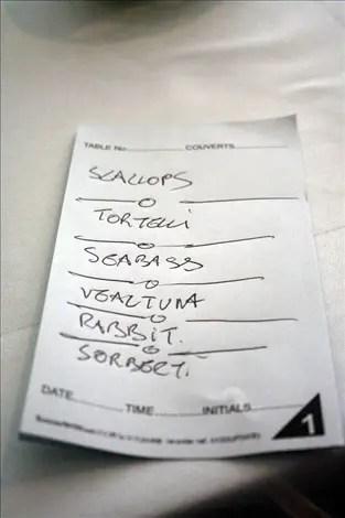 Lanima menu