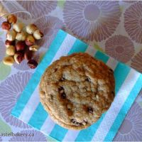 Browned Butter Chocolate Chip Hazelnut Cookies