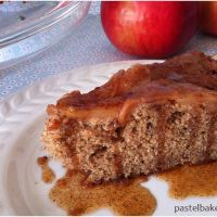 Apple Cinnamon Pecan Olive Oil Cake