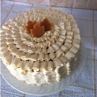 Maple Cardamom Ruffle Cake