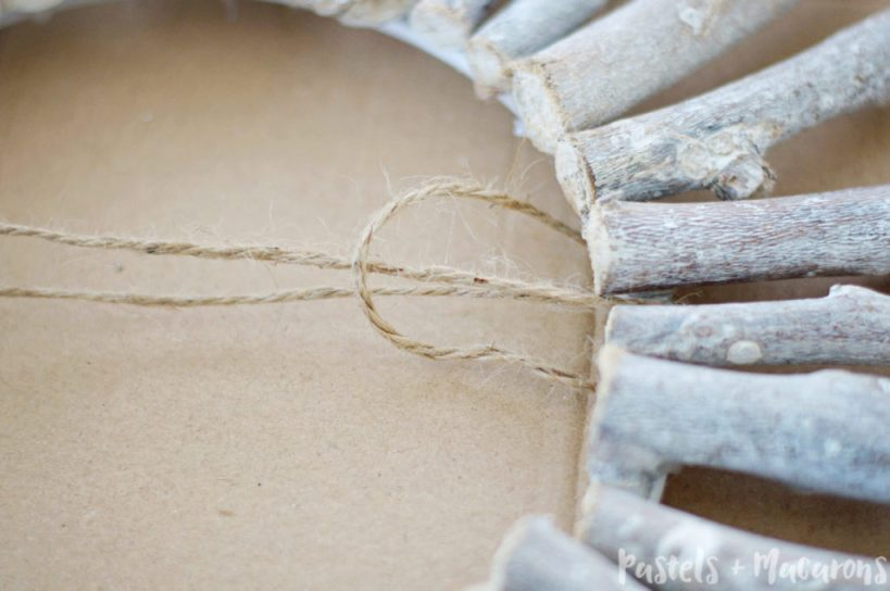 WOOD WREATH 14