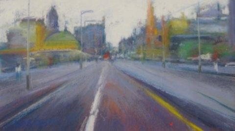 Nira Roberts - St Kilda Road, Melbourne