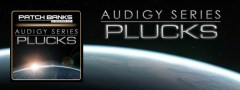 Audigy Series – Plucks