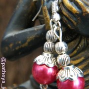 Detail of Christmas Earrings