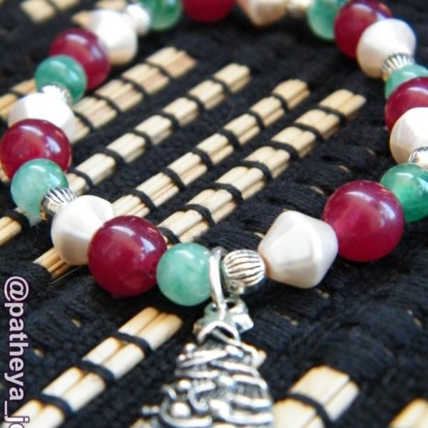 festive charm bracelet