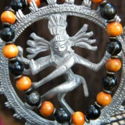 Shiva dancing around obsidian dreams