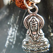 Detail of Buddha charm