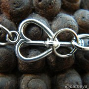 love heart toggle clasp