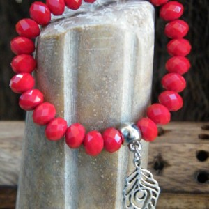 Ruby Red Beads