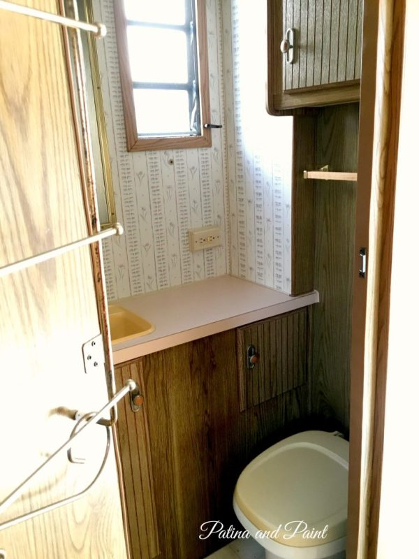 this is his bathroom his stand at attention bathroom it is small but