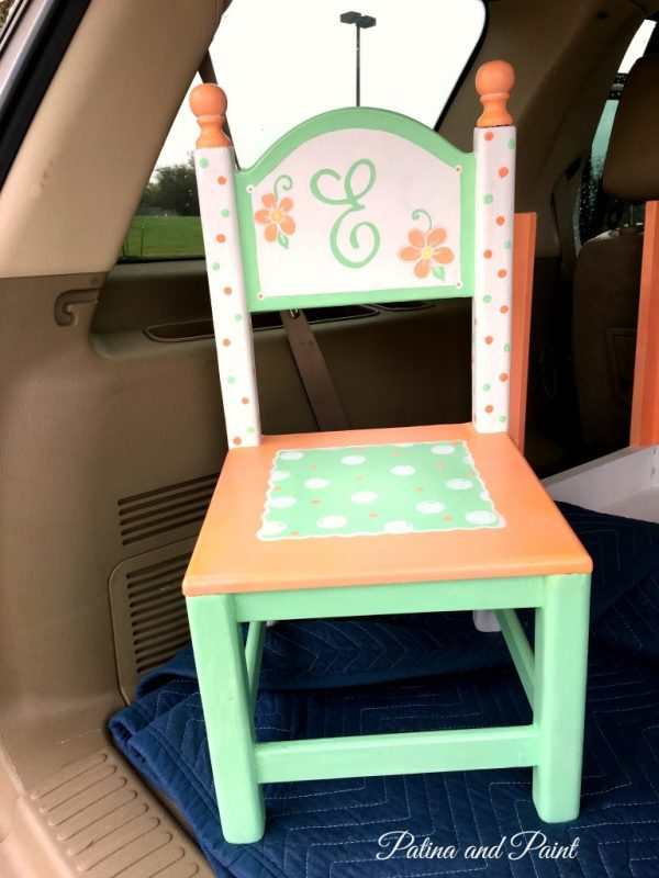 painted children's table 4