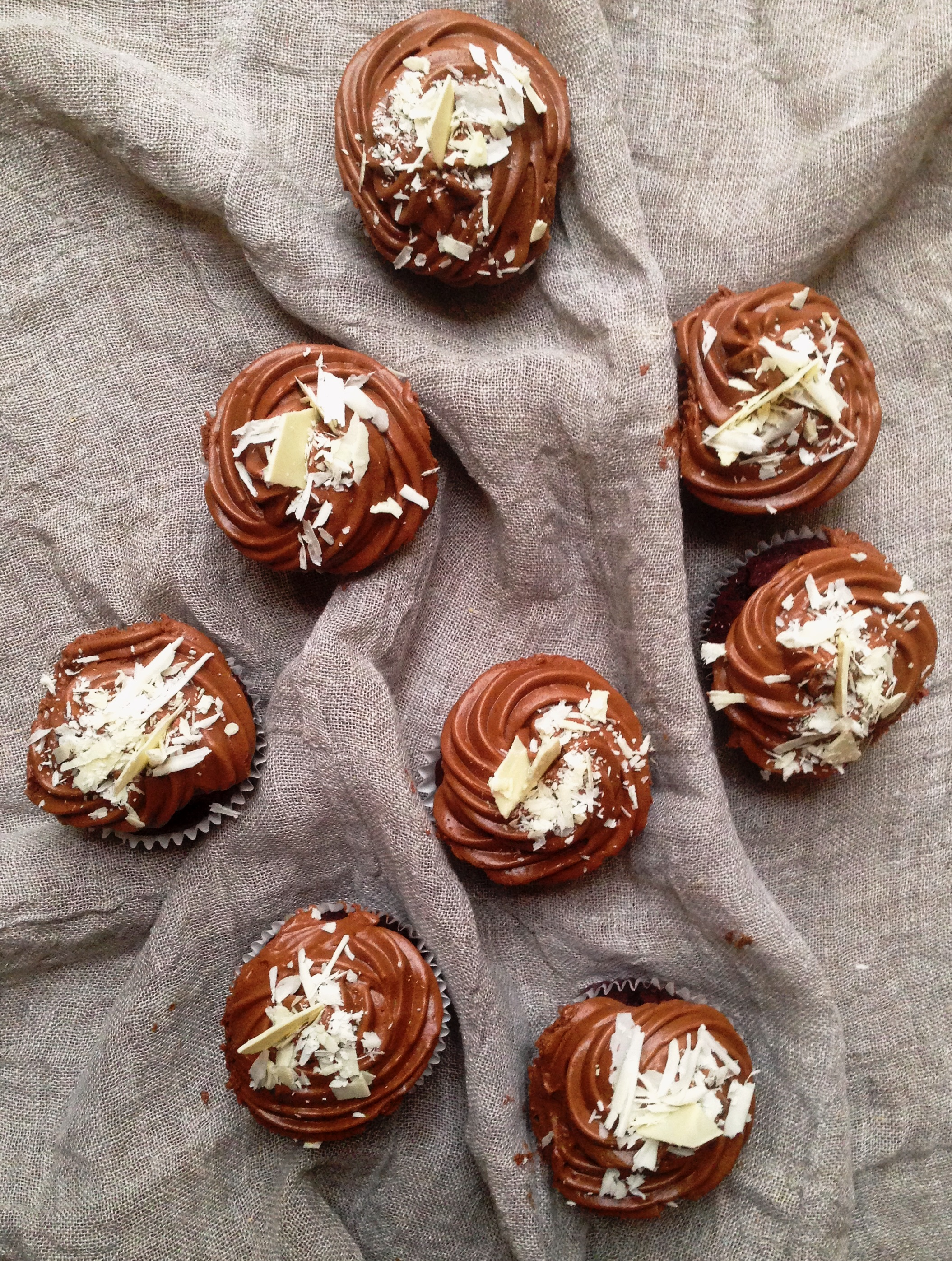 Chocolate and Beetroot Cupcakes