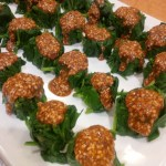 Toasted Sesame Spinach Gomae