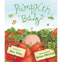 BOOK TALK:  PUMPKIN BABY by Jane Yolen