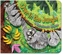 #PictureBookMonth Theme: Jungle :|: Read Over in the Jungle by Marianne Berkes #literacy #elemed