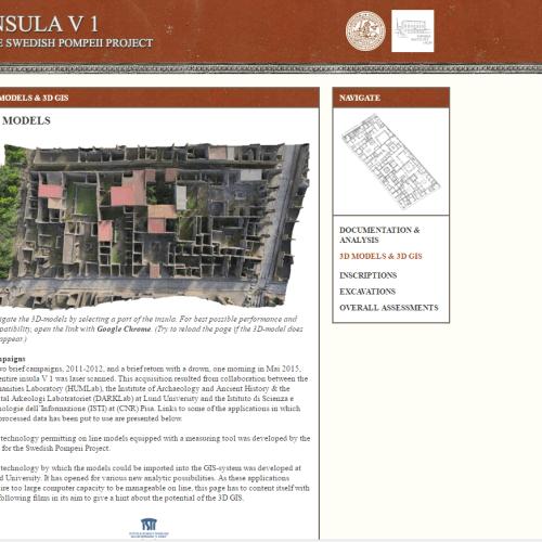 Virtualización del Patrimonio y Pompeya