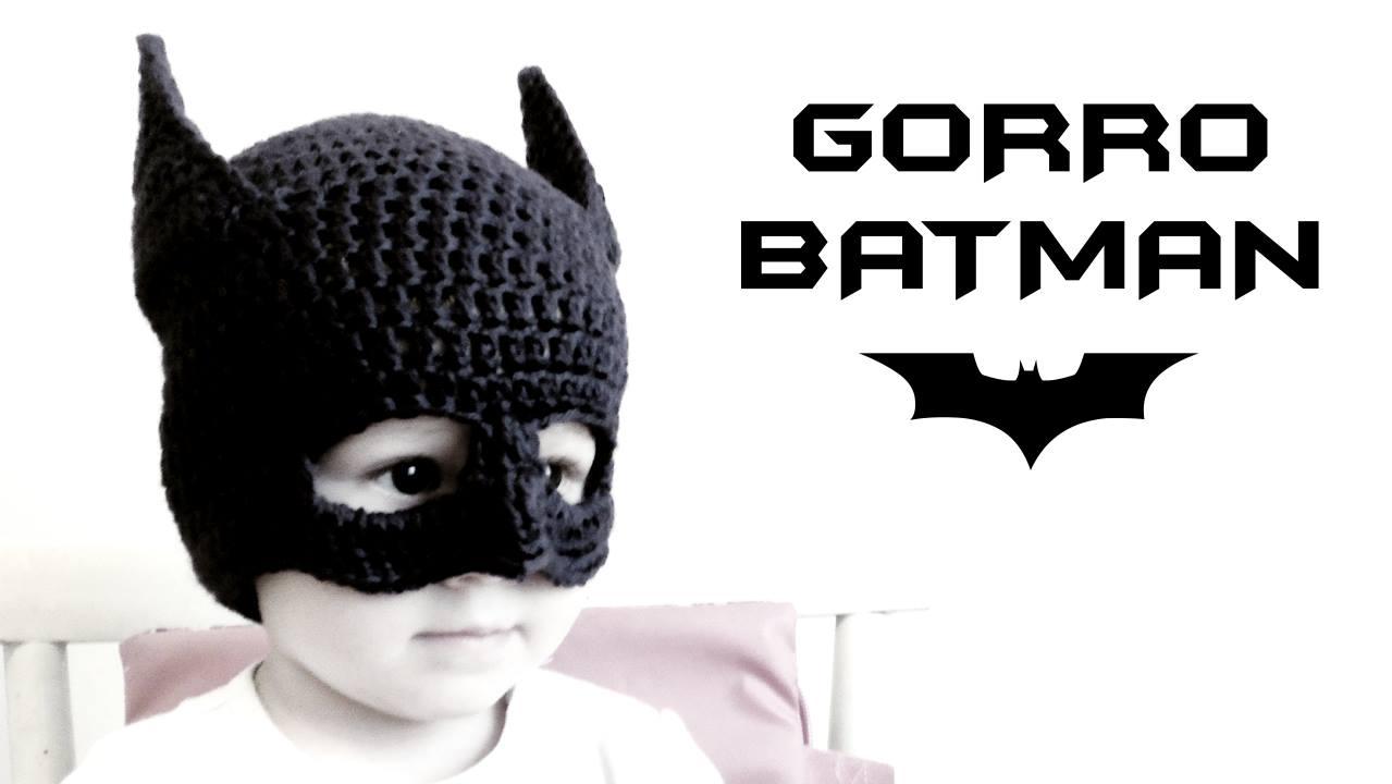 Amigurumi De Batman Patron : Gorro de BATMAN a Crochet PatronesMil