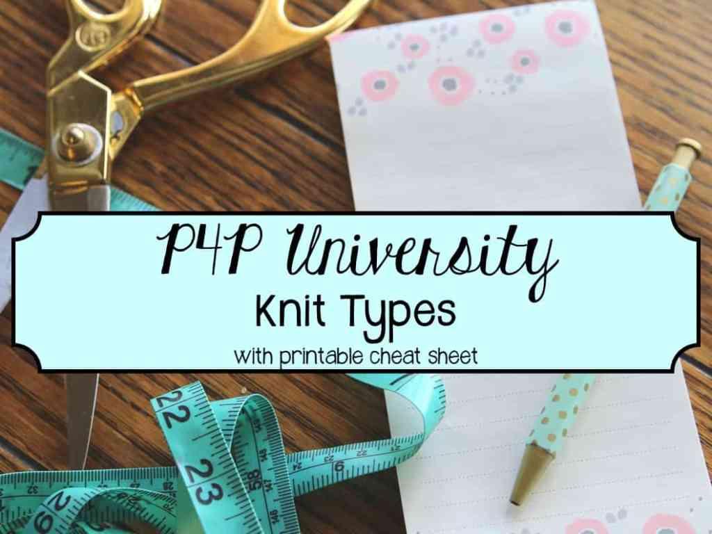 knit types