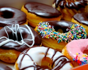 A group on processed donuts