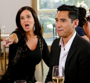 David Cruz and Patti Stanger