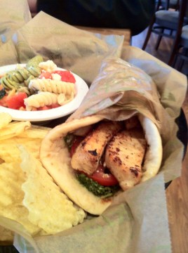 Chicken Pesto Gyro