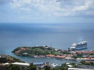 Caribbean Princess in Grenada