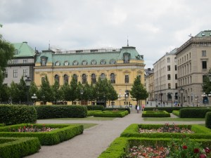 Stockholm's Kungstradgarden (King's Garden Square)