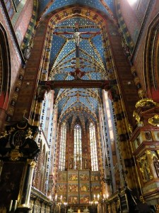 Interior of St. Mary's Basilica