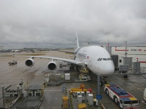 Our Malaysia Airlines A380...