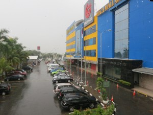 The mall in Batam...