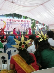 The Singapore Youth Festival's multicultural dance show...