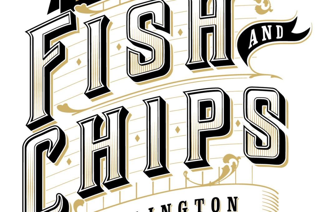 Logo Design for North Beach Fish and Chips in Bridlington