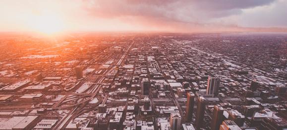 sunrise-over-the-city