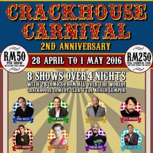 Paul Ogata in Kuala Lumpur @ Crackhouse Comedy Club | Kuala Lumpur | Federal Territory of Kuala Lumpur | Malaysia