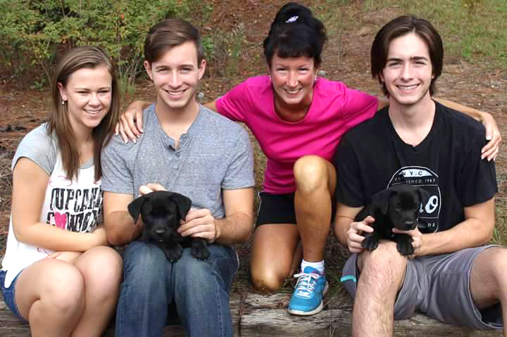 ADOPTED!!  This is Raph and Donnie - brothers from the same litter adopted into the same family.  This puppy was a pull of 8 from Aiken County Shelter, along with their mother (Sophie). They have been in foster with constant care and interatction since 2 days old. They are being fully vetted. Deworming every 2 weeks, and shots at required ages