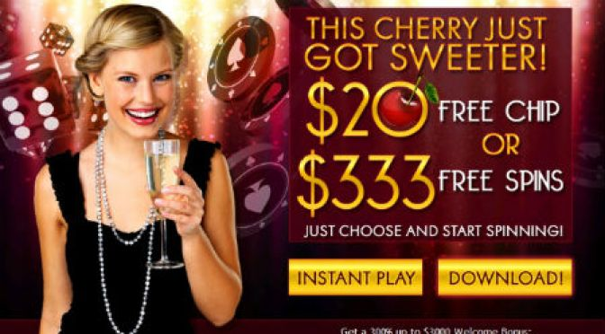 Golden Cherry February No Deposit Bonuses