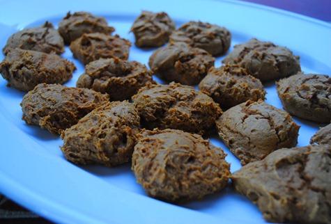 pumpkin spice cookies 062