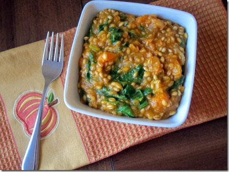 butternut squash wheat berry risotto 001-1